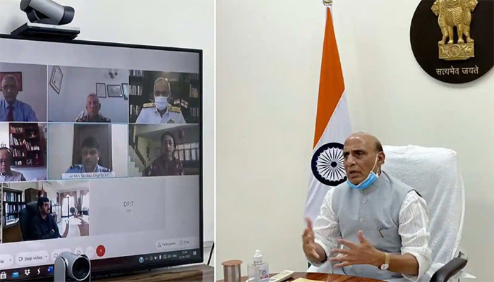 Rajnath Singh Meeting