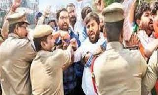 झड़प में भारतीय जनता पार्टी के नेता घायल