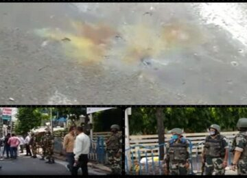 WB Election bomb Blast