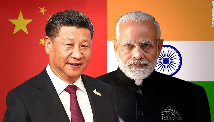 Xi Jinping with pm modi