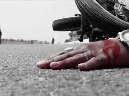 बाइक सवार दो दोस्तों की हुई मौत