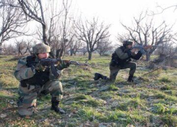 encounter between militants