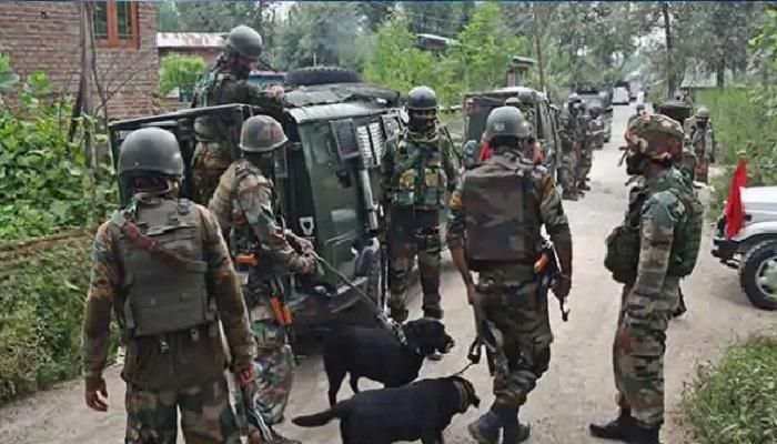 शोपियां में 3 आतंकी ढेर, security forces and terrorist, शोपियां में मुठभेड़, तीन आतंकियों के मारे जाने की खबर, शोपियां जिले के हादीपोरा, security forces and terrorist