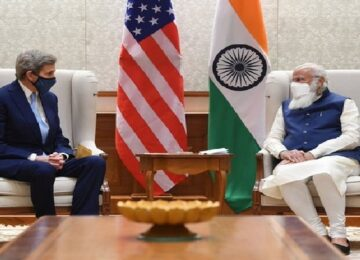 Modi met John Kerry