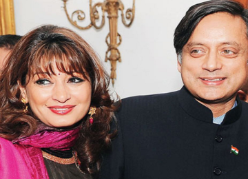 shashi tharur and sunanda