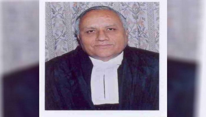 Judge Dharamvir Sharma passed away