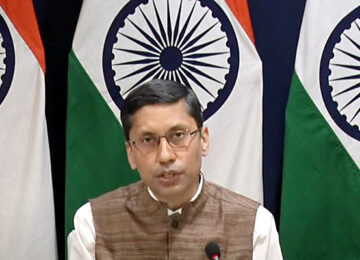 Foreign Ministry spokesman Arindam Bagchi